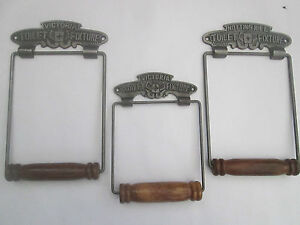 vintage-Victorian-old-style-Period-bathroom-Wc-Washroom-Loo-Toilet-Roll-Holder