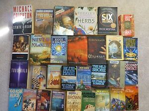 Crime, Fantasy, Mystery, Box of Fiction Books < 60c each Helensvale Gold Coast North Preview