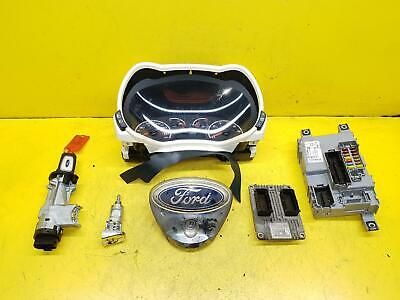 2010 Ford Ka 1.2 Petrol Manual ECU Kit Lock Set Key Ignition FP4