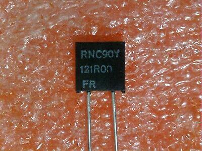 2 Pcs Vishay Dale Rnc90y Series Metal Foil Resistor Rnc90y121r00fr Us Seller