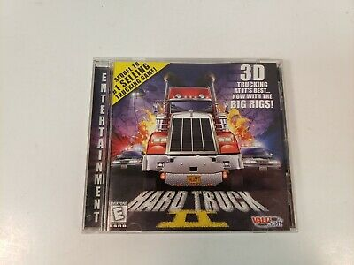 Hard Truck II 2 Big Rigs Valu Soft PC Game Tested Working Big Rig Truck Games