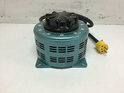 Staco 2510ct Variac Variable Power Transformer 0-140v 3.5kva 25a Tested