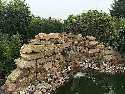 Edelstahl Wasserfall 600 Koi Teich  Speier Bachlauf neu Blechstärke1,5 mm !
