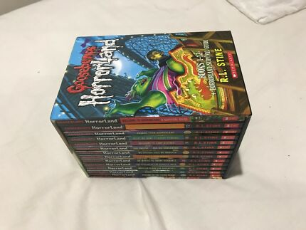 Complete collection of Goosebumps childrens books.