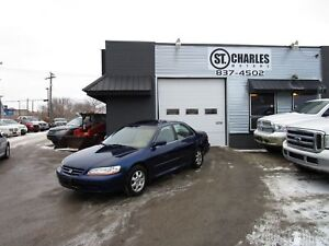 2002 Honda Accord EX-L fresh safety ,new all weather tires.