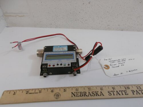 Decibel RF Sensor Alarm 450-1000 MHZ DB8802B 350  N type