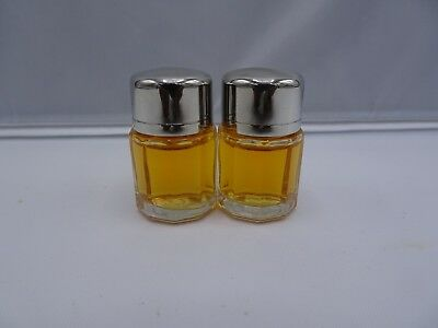 Calvin Klein Escape .13 oz Parfum Mini Perfume Bottle Travel Size LOT OF 2