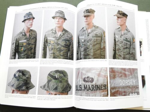 """""""UNIFORMS & EQUIPMENT OF US MILITARY ADVISORS IN VIETNAM"""" CAMO REFERENCE BOOK"""