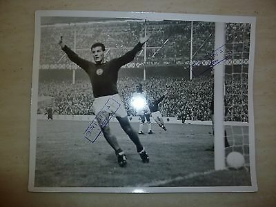 1966 world Cup Original Press Photograph- BRAZIL v HUNGARY - FARKS of Hungary