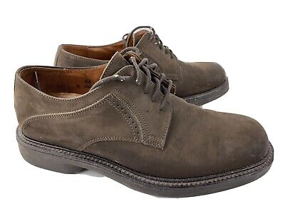 Johnston & Murphy Brown Leather Dress Shoe Men's Size 8 Made in Italy