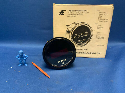 Aetna Engineering 8402 Precision LED Digital Tachometer