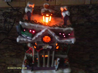 Disney Nightmare Before Christmas Village City Hall