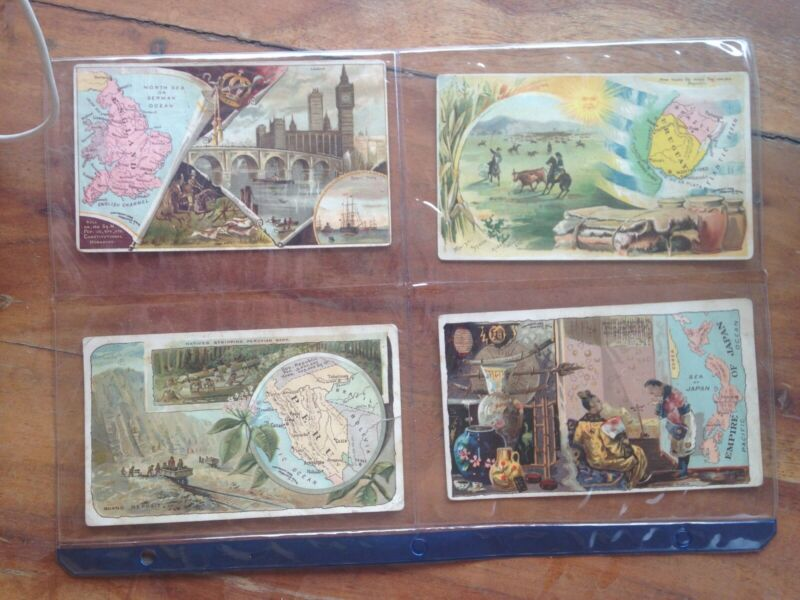 Arbuckle Coffee Trading Cards - Geography