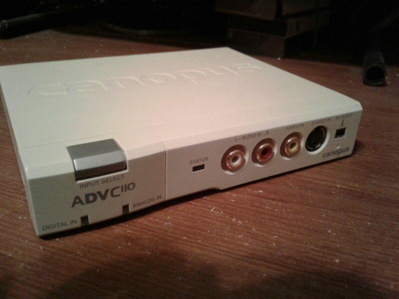 CANOPUS ADVC-110 DIGITAL VIDEO/AUDIO CONVERTER A-2