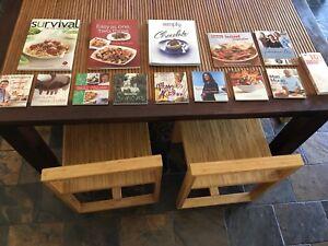 14x cookbooks