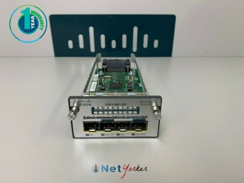Cisco C3KX-NM-10G - 4 Port Network Module • 1 Year Warranty ■SAME DAY SHIPPING■