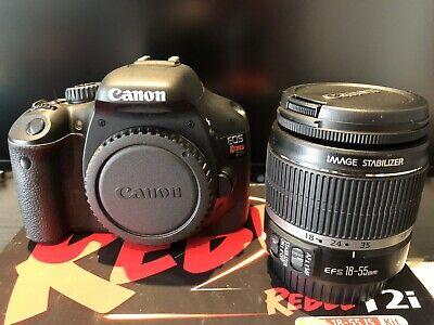 Canon EOS Rebel T2i / EOS 550D 18.0MP Digital Camera Kit 18-55 EFS lenses