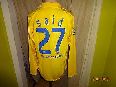 Rot Weiss Essen Nike Langarm Matchworn Trikot 2007/08