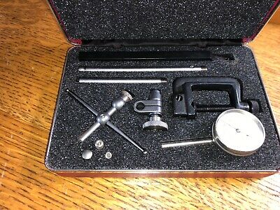 Starrett Test Dial Indicator Set No. 196 Set Kit