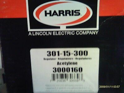 Harris Model 301-15-300 Acetylene Regulator
