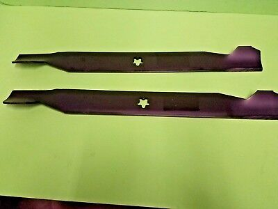 2 Lawn Mower Hi-Lift Blades Craftsman 42