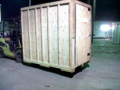 5x8 Storage Container - Wood Shipping Crate