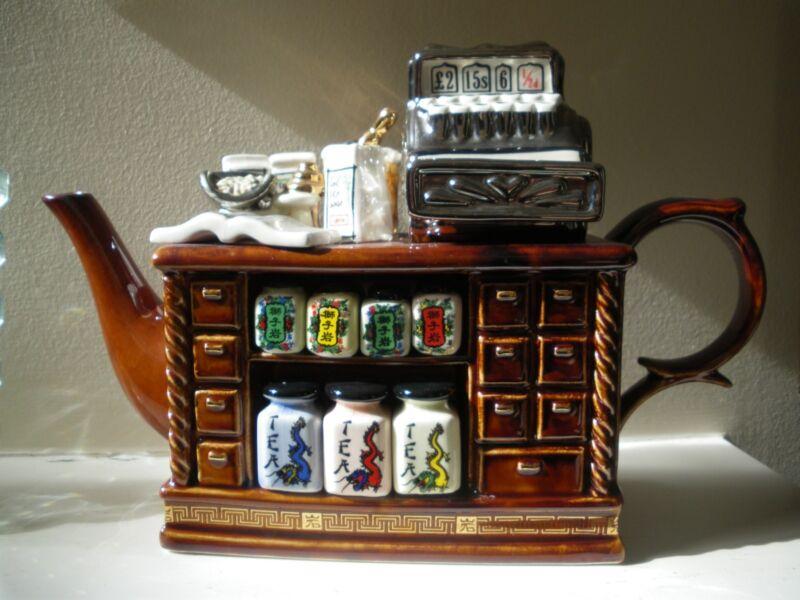 Paul Cardew Large Tea  & Cash Register teapot Collectible