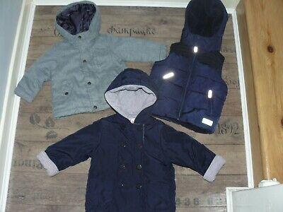 Boys bundle Zara, Il Gufo, Jasper Conran jackets, waistcoat size 12-18 months