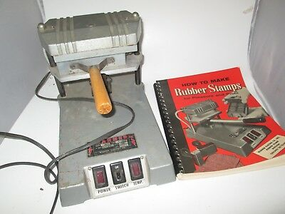Warner Electric Company Rubber Stamp Maker Press Model 46