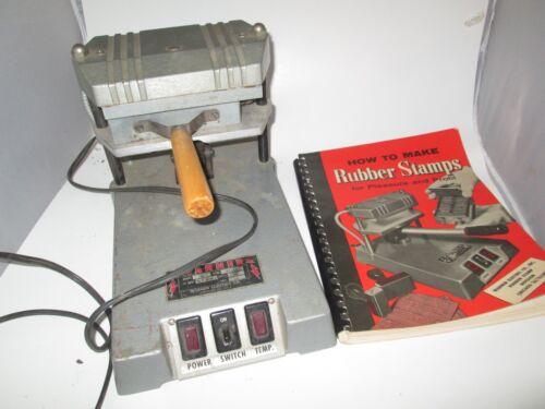Warner Electric Company Rubber Stamp Maker Press Model 46