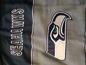 NFL Seahawks football poncho