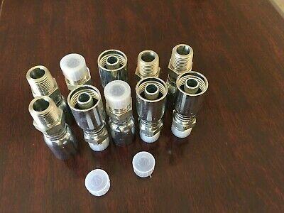 Mpx-08-08 10 Pk 12 Hose X 12 Male Pipe Swivel Hydraulic Hose Fittings Hy