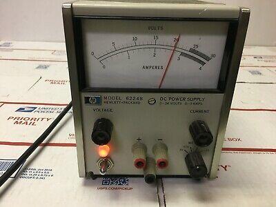 Hewlett Packard Hp 6224b Regulated Dc Power Supply 0-24 Volts 0-3 Amps