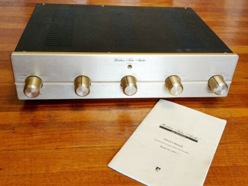 Golden Tube Audio SEP-1 Tube Stereo Preamplifier with MM Phono Stage, Manual