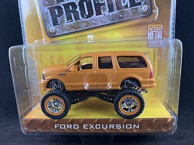 Jada Toys Dub City High Profile Ford Excursion Orange Brand New Rare 1:64