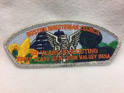 (csp2) Boy Scouts- Boston-Minuteman Council - Eagle Scout - John Halsey DESA csp