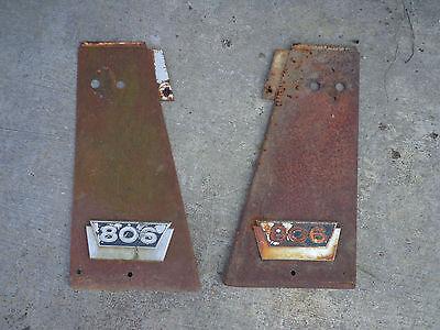 Farmall 806 Lp Front Radiator Panels