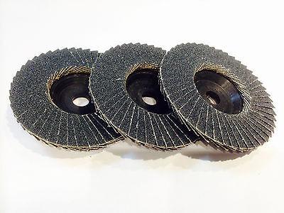 5 x Fächerscheibe Schleifscheibe Korn:80 passend für Bosch GWS 10,8 76 V-EC