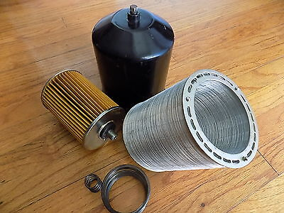 Wwii Military Ihc Farmall Truck Tractor Generator Oil Filter Canister Nos