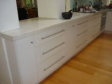 Good as New High Quality White Modern KItchen Canterbury Boroondara Area Preview