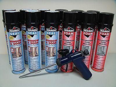 Fomo Handi Foam - 6 Gap Fill - 6 Window Door - Ht300 Gun - Its Great Stuff