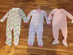 Baby girls sleepers. 18-24 months. New. $15 for all.