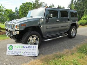 2005 Hummer H2 WOW! Loaded, Nav, Pristine, Inpsected Warr, Finan