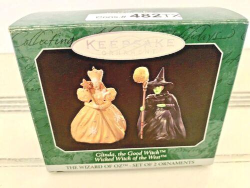 VTG 1992 Hallmark Keepsake Ornament Glinda Good/Wicked Witch Wizard of Oz Box