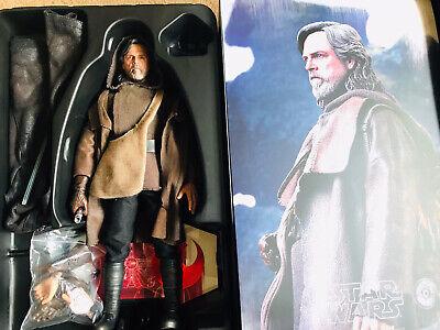 Hot Toys Luke Skywalker Star Wars last Jedi 1/6 Figure MMS 458 Not Rey Kylo Dx
