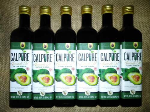 3Liter CALPURE Californian Extra Virgin Avocado Oil 101.4 fl oz High Heat Cookin