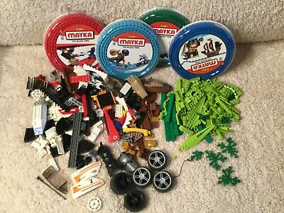 LEGO Bulk lot Random Parts Mix With Mayka block tape