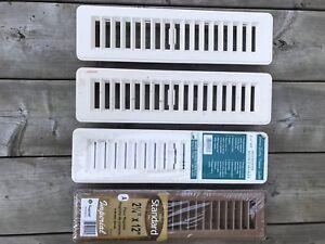 Heating Registers/Registres de Plancher