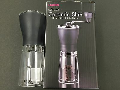 Hario Hand Grinder Coffee Mill Ceramic Slim Manual MSS-1TB from JAPAN