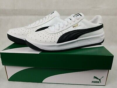 PUMA GV Special Plus + Sneakers Men Shoes Sport Classics Size 12 White / Black
